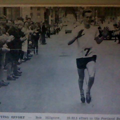 shared photo courtesy of newspaper clipping from Bangor Daily News