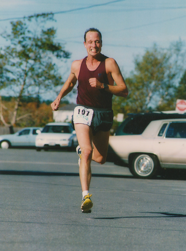 One of the top finishers, Photo courtesy of Don Penta's archives