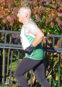 Kevin Mitchell places 3rd in his age group in Oct 5K held in Lewiston