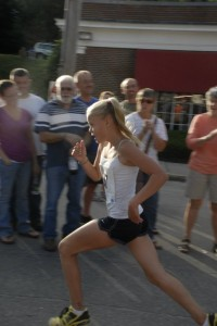 1st Female of the One Mile Blueberry Fest Run