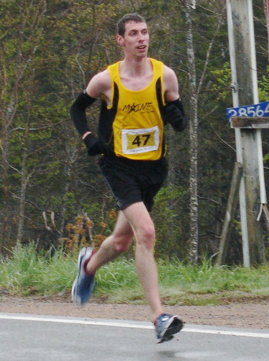 Caleb Lander first overall in 2011 Di Pie in the Sky Road Race