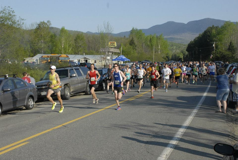 photo of the start of the 2012 Sugarloaf 15K courtesy of David Colby Young