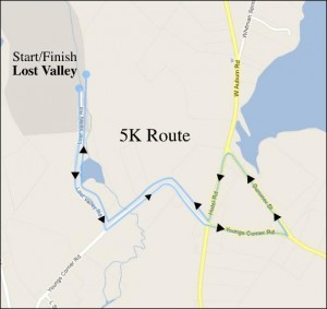 5k run from the event web site