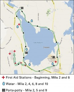 Half Marathon Map courtesy of the event web site.