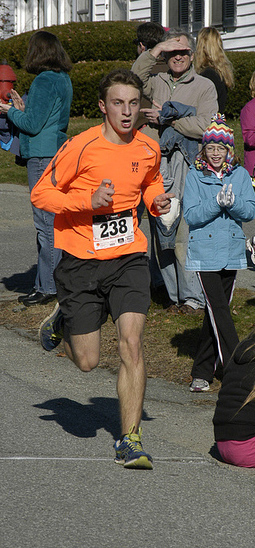 File Photo of Josh Horne courtesy of Don Penta of Maine Running Photos