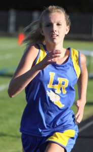 file photo of Addie Blais courtesy of http://mcclellandmiscellanea.wordpress.com/category/2013-lake-region-cross-country/
