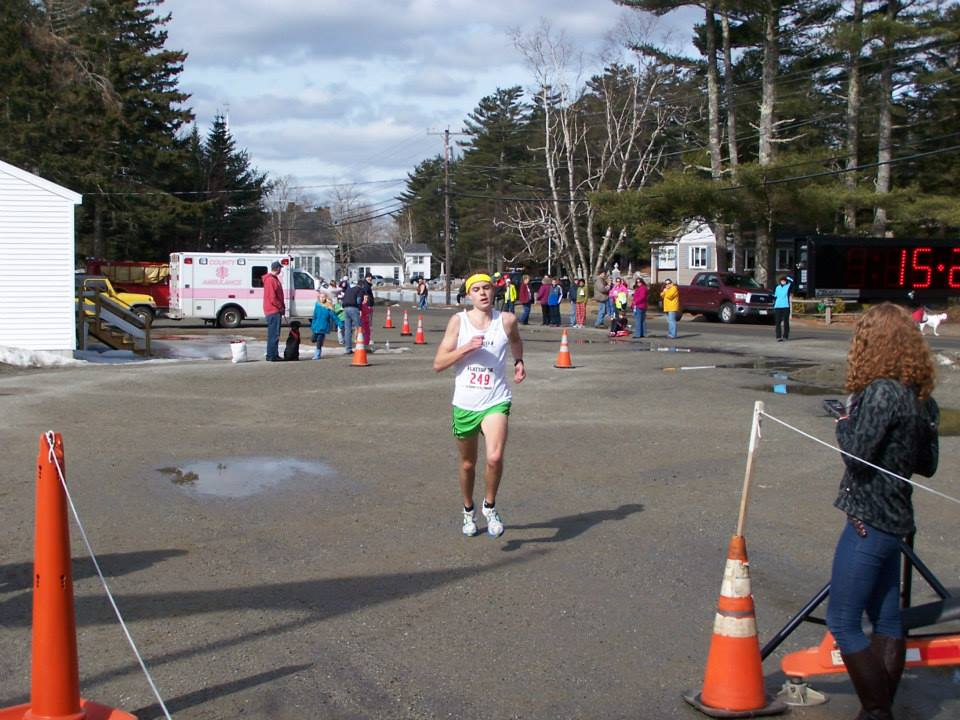 1st male finishers courtesy of the Lamoine fb page