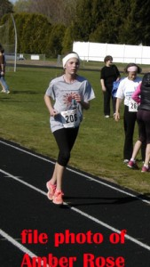 file photo of youngest Maine finisher 5th in her age group