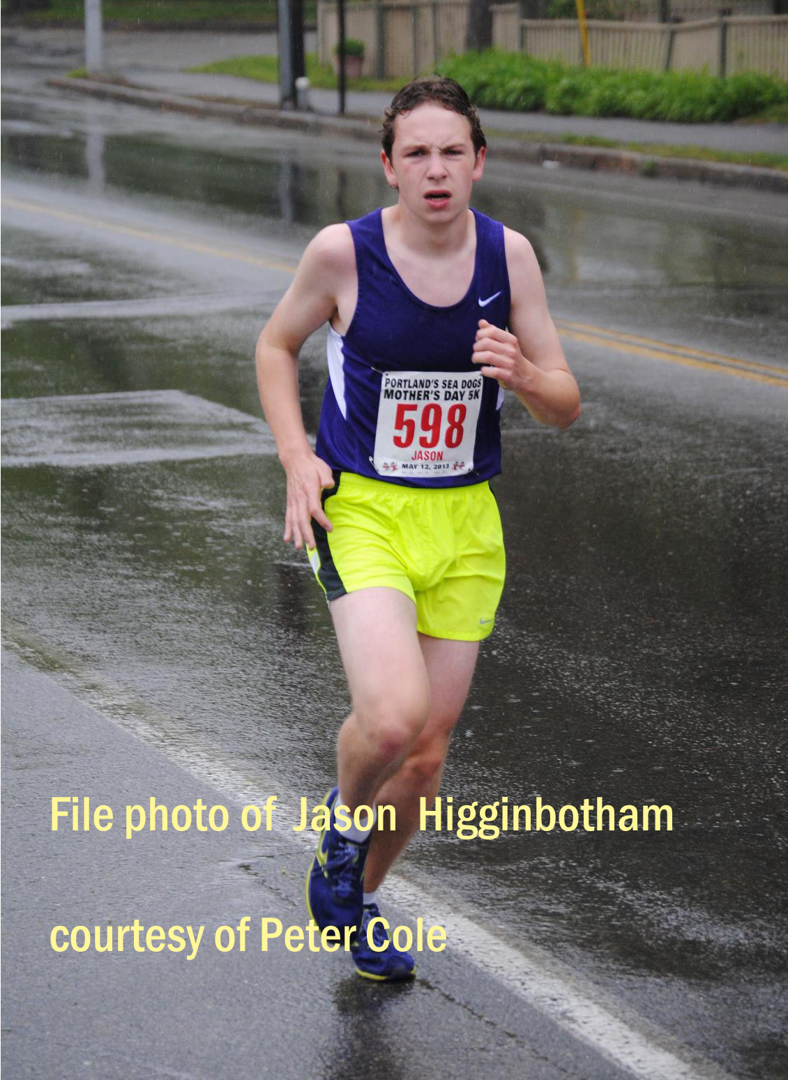 File photo of Jason Higginbotham courtesy of Peter Cole