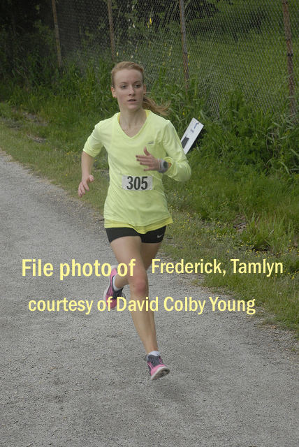 file photo of Tamlyn Frederick courtesy of David Colby Young