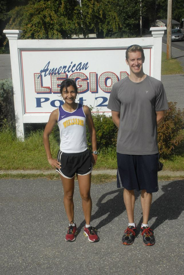 Right to Left: 1 Nathan Suomela 21:39 & 2 Lisetta Shah 22:40