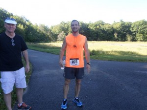 1st Maine Finisher courtesy of the event