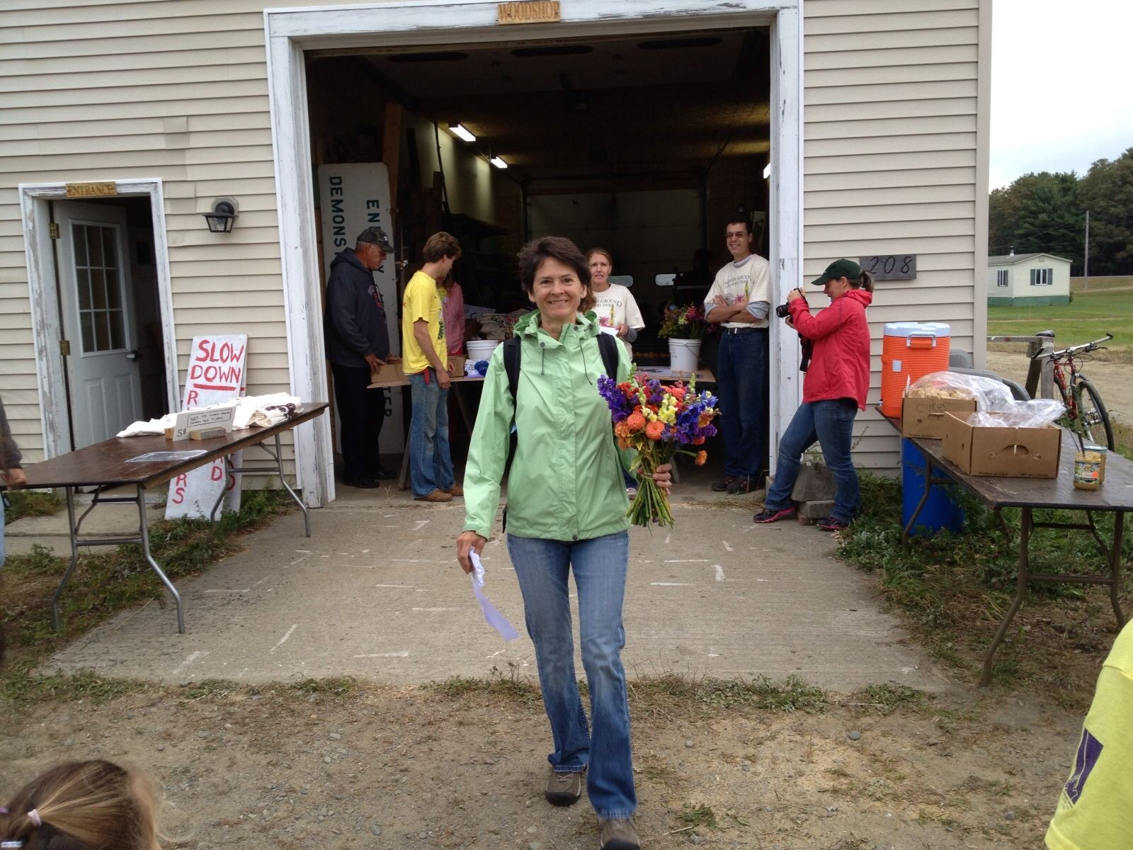 Congrats Carol Manley - first in your age group at Common Ground 5K Photos shared by Ron Haney
