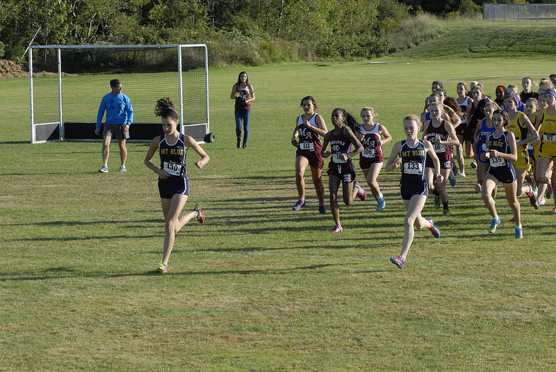 Start of Girls Race courtesy of David Colby Young