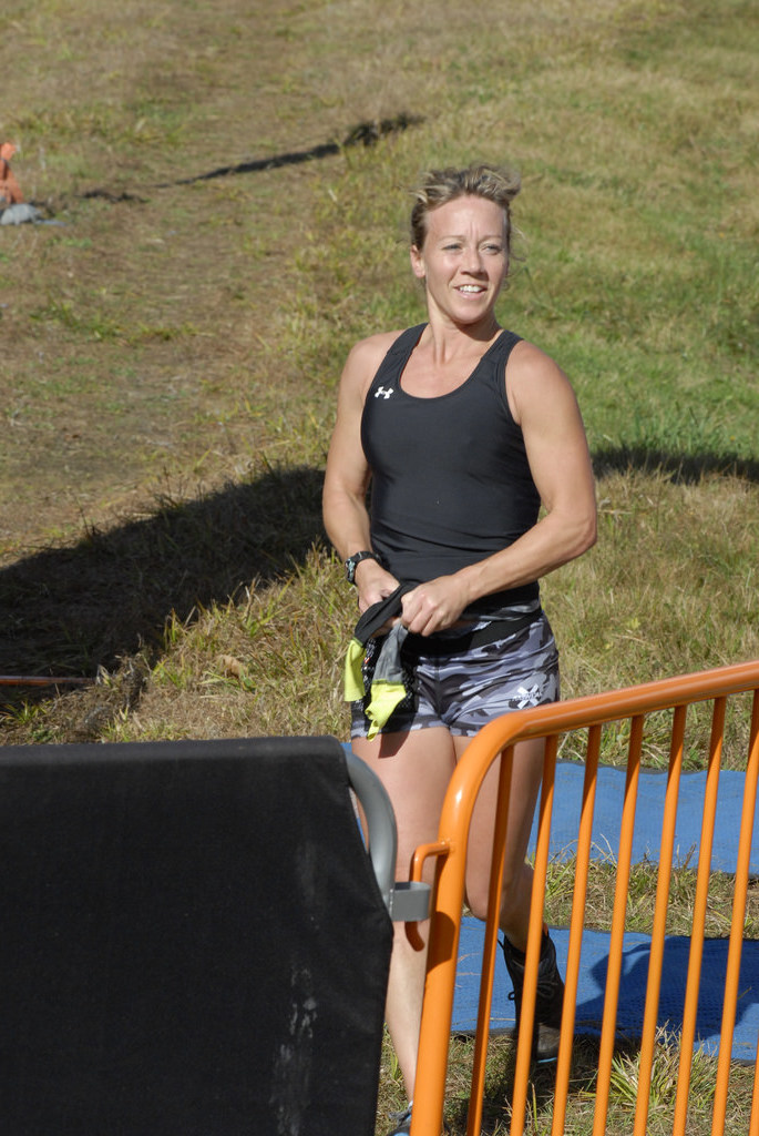 file photos of Debbie Koch, 1st female & first finisher overall finishers