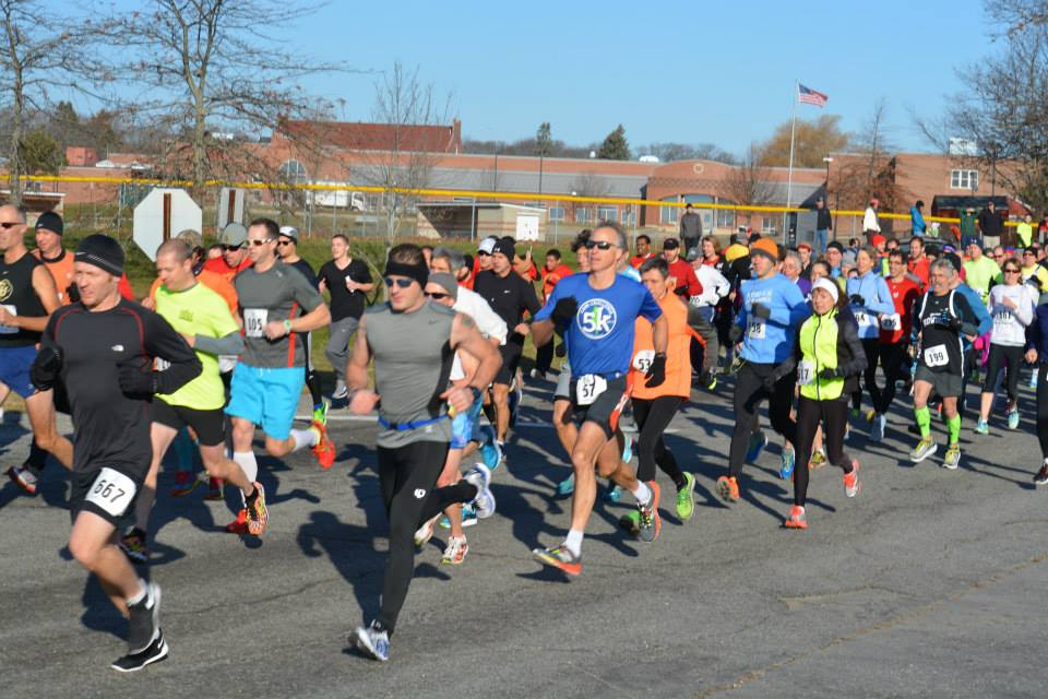 2014 Start of the Maine Track Club Turkey Trot courtesy of Jenny Berube fb