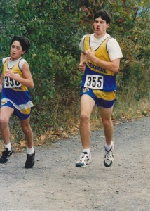 Darren Winchenbach and a young Robert Gomez at the Regional Championships in Orono back in October 1997. Found this photo by complete surprise last weekend (2015-03-27)