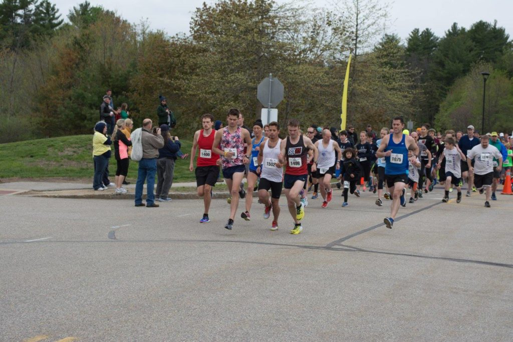 courtesy photo of the start